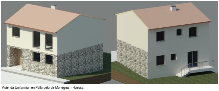 Vivienda Unifamiliar en Pallaruelo de Monegros Huesca