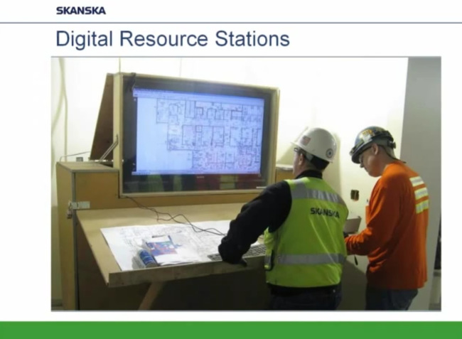 work stations skanska bim 360